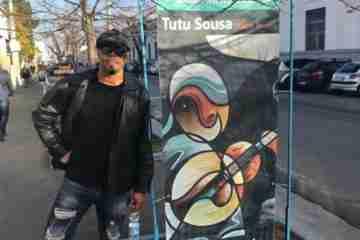 A Arte de Tutu Sousa seduz o povo italiano