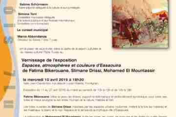 """Centrum SSSL de Frontignan -""""Espaces, atmosphères et couleurs d'Essaouira"""""""