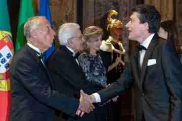 Il Quirinale invita il Festival Sete Sóis in occasione dell'incontro tra il Presidente Matterella e il Presidente della Repubblica del Portogallo